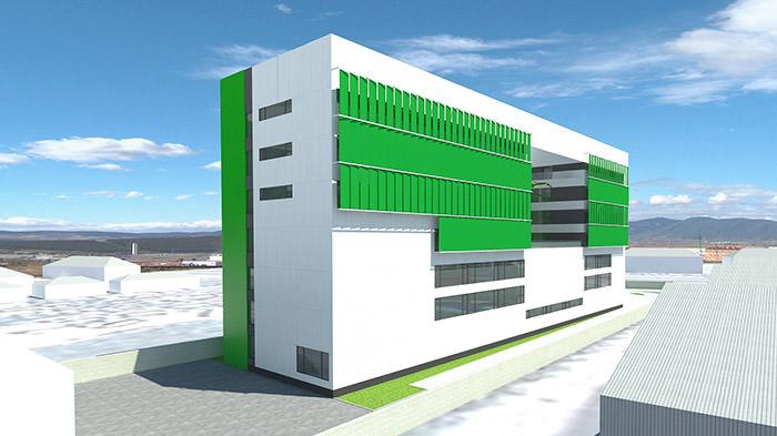 Company Corporate Building Impacto